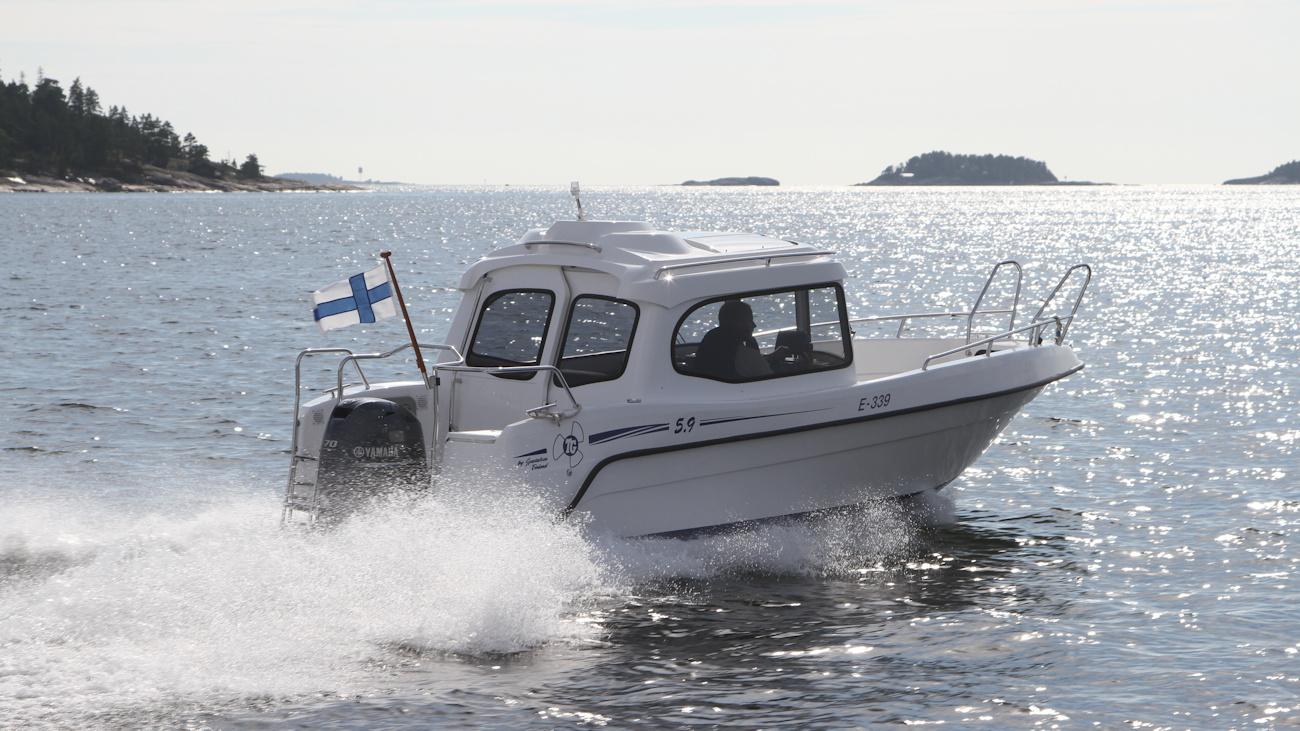 käytetyt kulkuri veneet